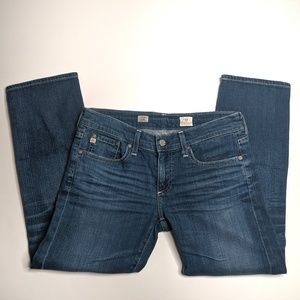 AG The Tomboy Relaxed Straight Crop Jeans